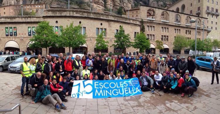 Arribada a Montserrat -MApeu75